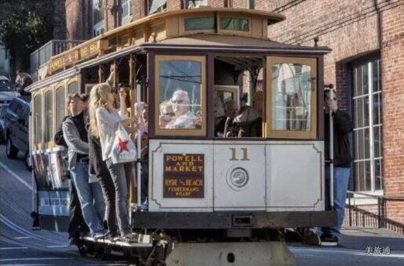 《坐公交玩转旧金山》
