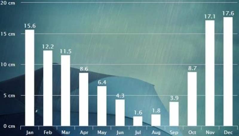 《波特兰的天气与最佳旅游季节》