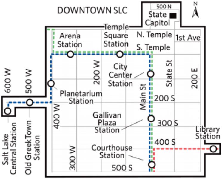 《盐湖城市内公共交通》
