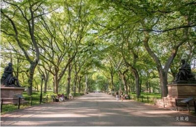 《纽约中央公园里有哪些景点》