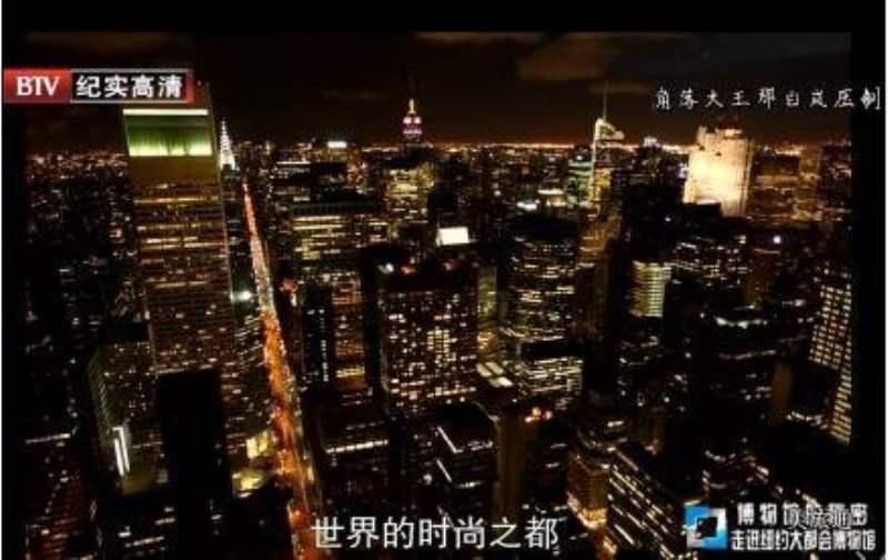 《纽约大都会博物馆的视频》