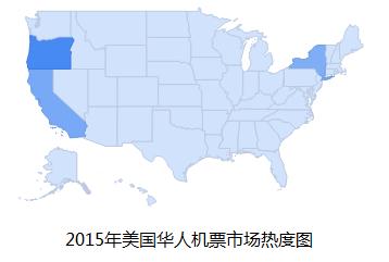 《美中航线列表》