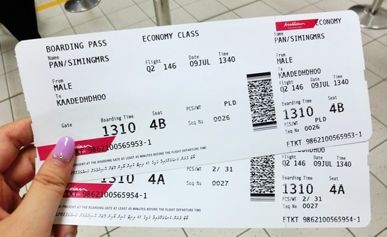 教你如何订往返飞机票