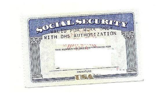 社会安全卡