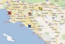 洛杉矶机场大全 洛杉矶有几个机场